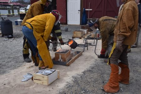 Bronze casting workshops set for July at the Chesapeake Bay Maritime Museum in St. Michaels, Md
