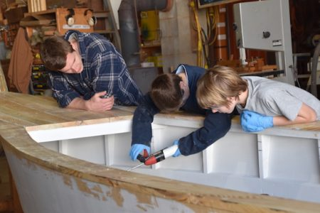 Rising Tide students to launch skiffs at Chesapeake Bay Maritime Museum's Community Day