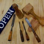 Learn to carve a name board at the Chesapeake Bay Maritime Museum in St. Michaels, Md