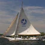 See skipjack Stanley Norman at the Chesapeake Bay Maritime Museum in St. Michaels