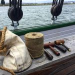 Introduction to Rigging workshop at the Chesapeake Bay Maritime Museum