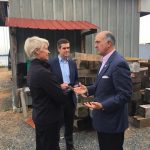 Secretary of Commerce visits the Chesapeake Bay Maritime Museum in St. Michaels, Md.