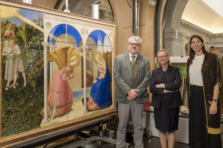 Friends of Florence and American Friends of the Prado Museum announce restoration of Fra Angelico's Annunciation
