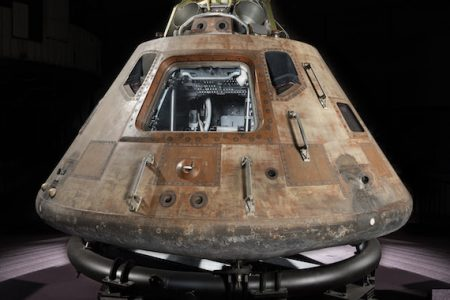 Apollo 11 Spacecraft Lands at the Museum of Flight in Seattle