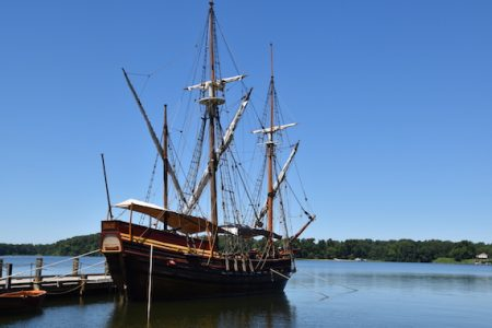 Iver Franzen chosen by the Chesapeake Bay Maritime Museum as naval architect to design new Maryland Dove