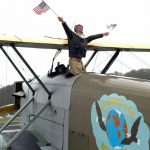 Seattle Aviator Presents Preview of Upcoming Global Flight in Replica 1924 Aircraft