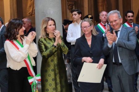 Friends of Florence Foundation president honored by the Italian Republic