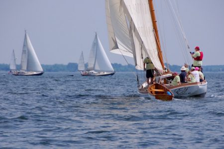 Ninth annual Elf Classic Yacht Race at the Chesapeake Bay Maritime Museum in St. Michaels