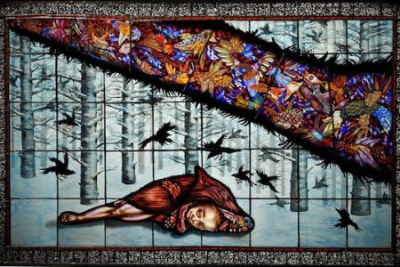 Judith Schaechter Stained-Glass Art Exhibition at Memorial Art Gallery