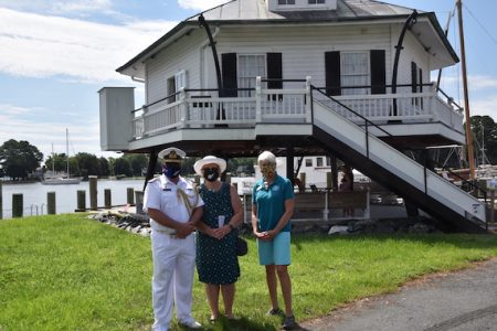 Chesapeake Bay Maritime Museum hosts Royal New Zealand Navy Commodore