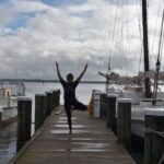 Join the Chesapeake Bay Maritime Museum for sunset yoga this fall