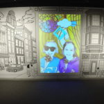 Cincinnati Museum Center teams up with ArtWorks on interactive mural