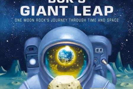Cincinnati Museum Center's beloved Moon rock tells its story in new children's book