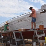 Learn the Art of Caulking from master shipwrights at the Chesapeake Bay Maritime Museum