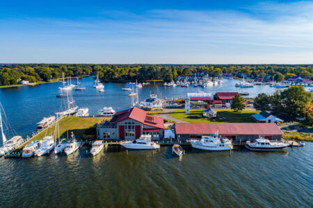 Chesapeake Bay Maritime Museum expands marina, docking amenities