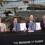 Museum of Flight and Japan's Gifu-Kakamigahara Air and Space Museum Sign Partnership Agreement