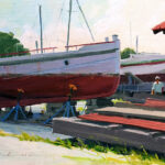 American Society of Marine Artists exhibition to open at the Chesapeake Bay Maritime Museum
