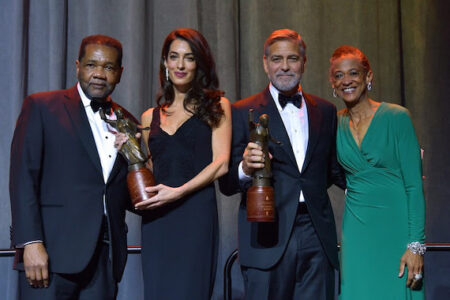 Amal and George Clooney, John Lewis and Bryan Stevenson honored by Freedom Center